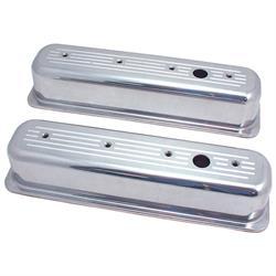 Spectre 5016 Aluminum Valve Covers, Chevy/GMC 5.0L-5.7L, Pontiac 5.0L