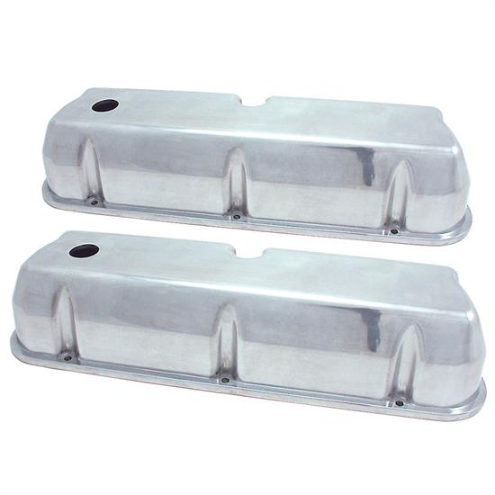 Spectre 5018 Aluminum Valve Covers, Ford/Mercury 260-351, Lincoln 5.0L