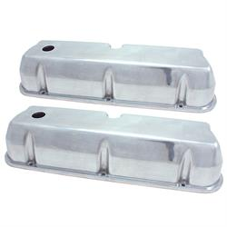 Spectre 5018 Aluminum Valve Covers, Ford/Mercury 260-351, Lincoln 5.0L