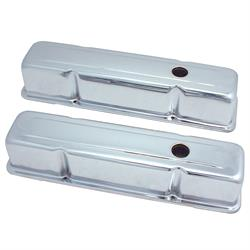 Spectre 5210 Chrome Valve Covers, Chevy 283-400, GMC 283-400