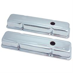 Spectre 5220 Chrome Valve Covers, Chevy 283-400, GMC 283-400
