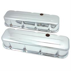 Spectre 5230 Chrome Valve Covers, Chevy/GMC 396-454