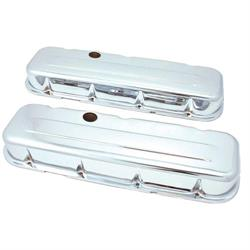 Spectre 5240 Chrome Valve Covers, Chevy/GMC 396-454