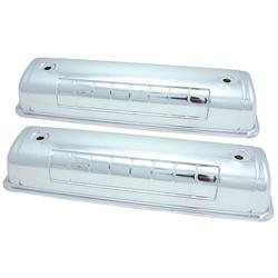 Spectre 5241 Chrome Valve Covers, Ford 292-312