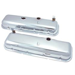 Spectre 5261 Chrome Valve Covers, Chevy/GMC 396-454
