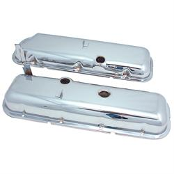 Spectre 5262 Chrome Valve Covers, Chevy/GMC 396-454