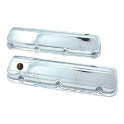 Spectre 5264 Chrome Valve Covers, Ford 428-460, Lincoln/Merc 429-460