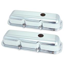 Spectre 5268 Chrome Valve Covers, Chevy 173, GMC 2.8L