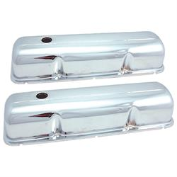 Spectre 5270 Chrome Valve Covers, Ford/Mercury 352-428
