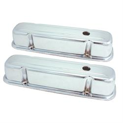 Spectre 5272 Chrome Valve Covers, Pontiac 301-455