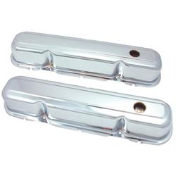 Spectre 5274 Chrome Valve Covers, Chrysler 318-360, Dodge 273-360