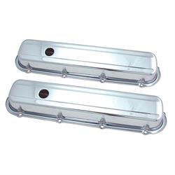 Spectre 5281 Chrome Valve Covers, Cadillac 368-472