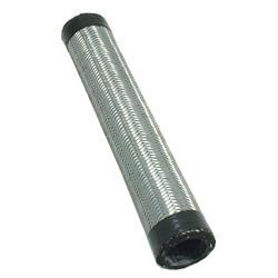 Spectre 5511  Steel-Flex Radiator Hose, Stainless Steel, 11 in. Long