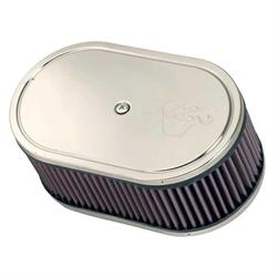 K&N 56-1210 Air Cleaner Assemblies, 3.25in Tall, Red, Oval
