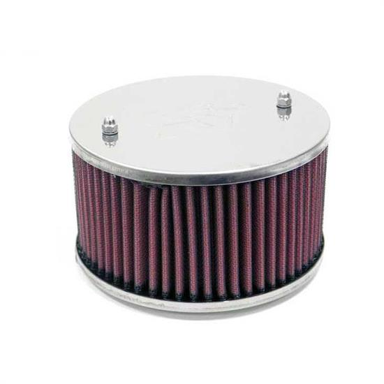 K&N 56-9270 Air Filter Assembly, 3.313in Tall, Red, Round