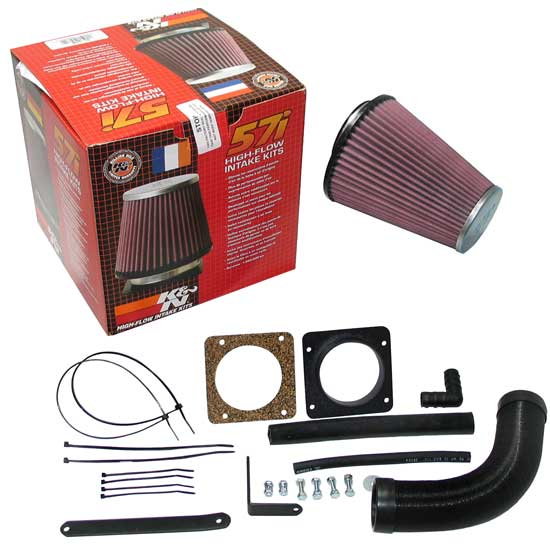 K&N 57-0100 57i Series Performance Intake Kit, Ford 2.0L