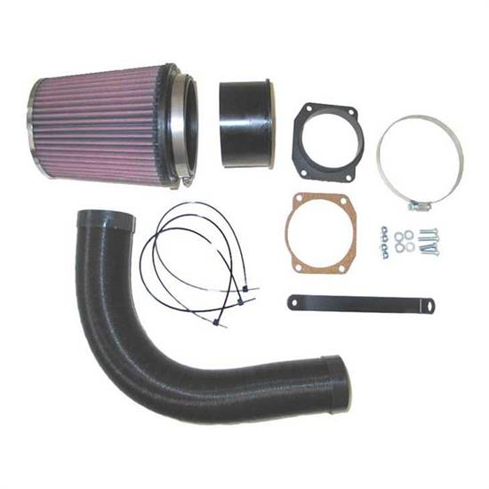 K&N 57-0555 57i Series Performance Intake Kit, Audi 1.8L