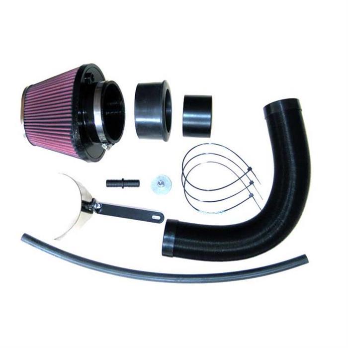 K/&N 57-0632 Washable and Reusable Car Performance Intake Kit