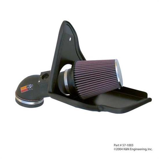 K&N 57-1003 57 Series FIPK Performance Intake Kit, BMW 3.2L