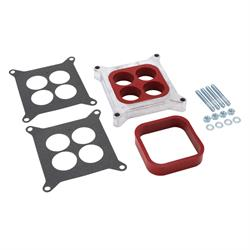 Spectre 5764 Carburetor Spacer, 1 In Thick Alum, 4-Barrel Square Bore