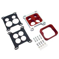 Spectre 5765 Carburetor Adapter, Square Bore/Spread Bore Flange