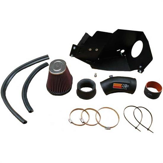K&N 57I-1001 57i Series Performance Intake Kit, BMW 2.5L-2.8L
