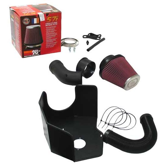 K&N 57I-9500 57i Series Performance Intake Kit, Audi 3.2L, VW 3.2L