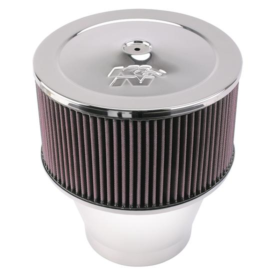 Volocity Stacks Chopper Air Cleaner : K n velocity stack air filter assembly in tall