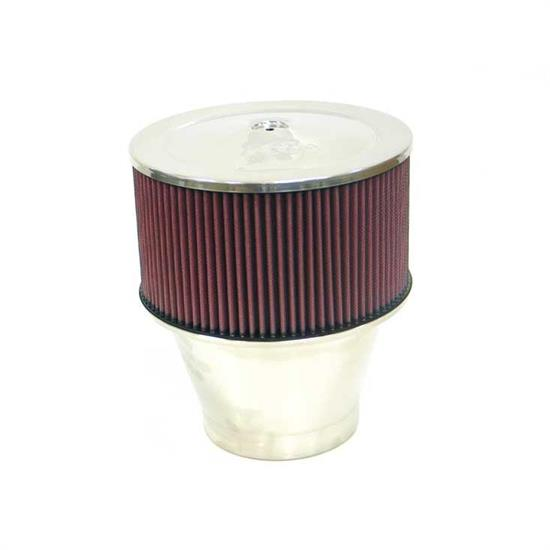 K&N 59-1196 Marine Flame Arrestor, Round, 10.5 in. Tall