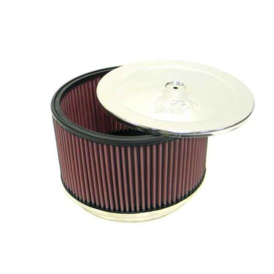 K&N 59-1197 Marine Flame Arrestor, Round, 4 in. Tall