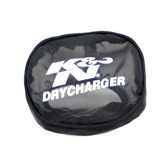 K&N 59-2045DK DryCharger Air Filter Wrap, 1.5in Tall, Black