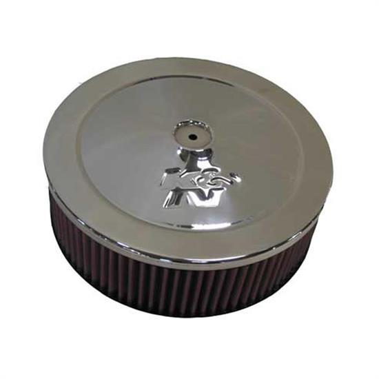 K&N 59-3364 Marine Flame Arrestor, Round, 2.75 in. Tall