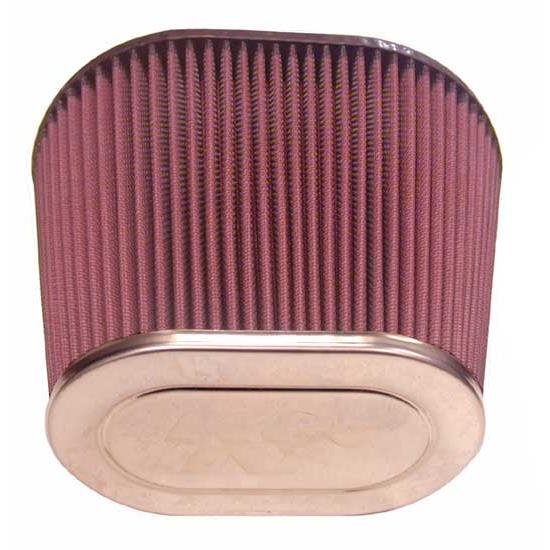 K&N 59-5011 Marine Flame Arrestor, Oval Straight, 6 in. Tall