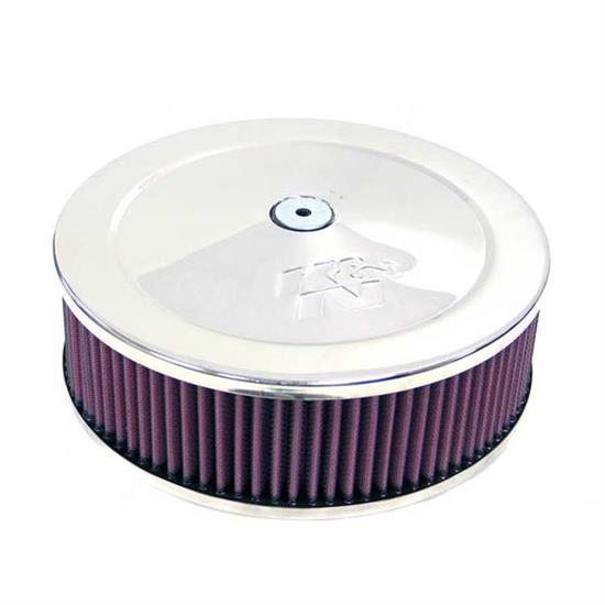 K/&N 60-1120 Stainless Steel Round Air Filter Assembly