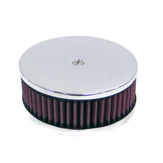 K&N 60-1331 Air Filter Assembly, 2in Tall, Red, Round