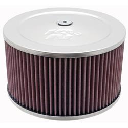 K&N 60-1365 Air Filter Assembly, 5in Tall, Red, Round