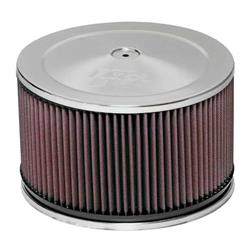 K&N 60-1366 Air Filter Assembly, 5in Tall, Red, Round