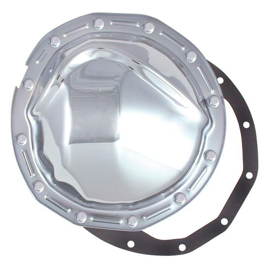 Spectre 6071 Differential Cover, Steel, Chrome, GM 8.875 Inch, Each