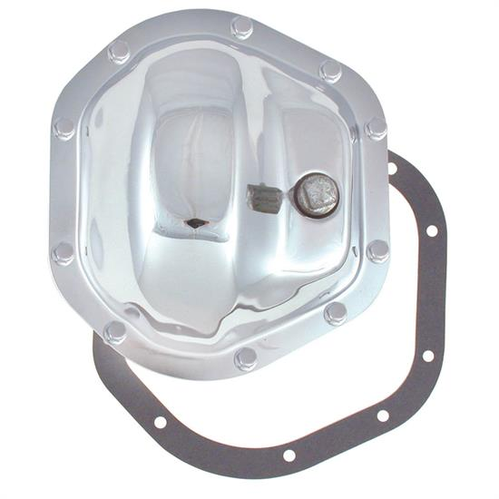 Spectre 6075 Differential Cover, Steel, Chrome, Dana 44, Each