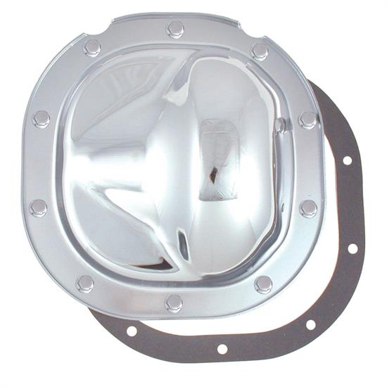 Spectre 6083 Differential Cover, Steel, Chrome, Ford 8.8 Inch, Each