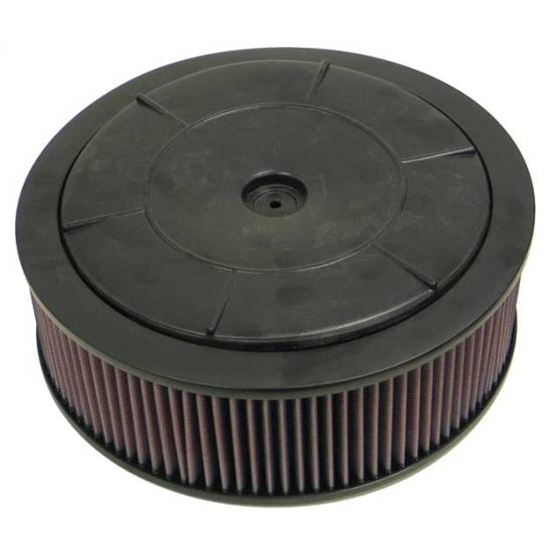 K&N 61-2040 Flow Control Filter Assembly, 14 x 4.5, Rochester 2-Barrel