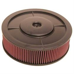 K&N Filters 61-4000 Flow Control Air Cleaner-Holley 4BBL no Choke Horn