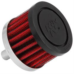 K&N 62-1000 Crankcase Vent Air Filter, 1.5 in. Tall, 2 in. OD