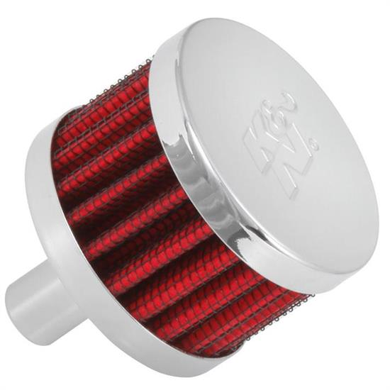 K&N 62-1015 Crankcase Vent Air Filter, 1.5 in. Tall, 2 in. OD