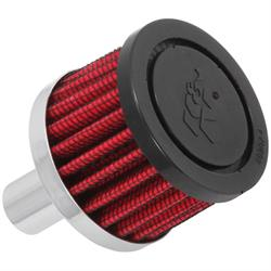 K&N 62-1020 Crankcase Vent Air Filter, 1.5 in. Tall, 2 in. OD