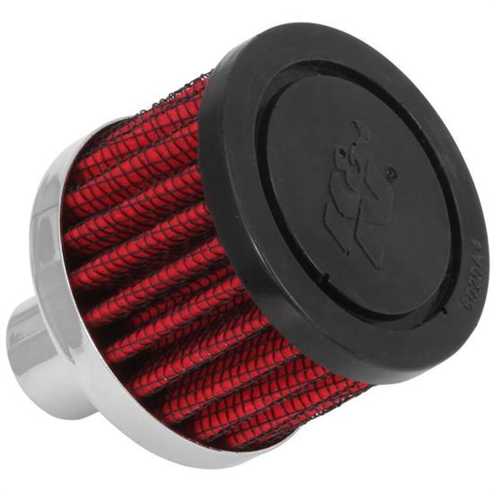K&N 62-1030 Crankcase Vent Air Filter, 1.5 in. Tall, 2 in. OD