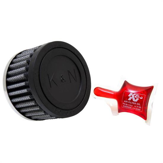 K&N 62-1060 Crankcase Vent Air Filter, 2 in. Tall, 3 in. OD