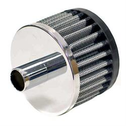 K&N 62-1070 Crankcase Vent Air Filter, 2 in. Tall, 3 in. OD
