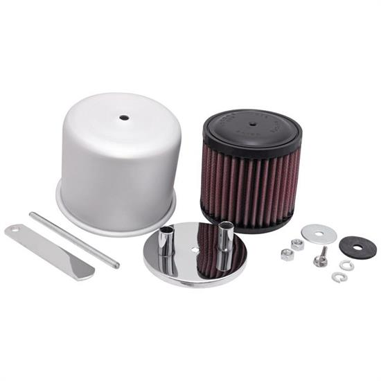 K&N 62-1180 Crankcase Vent Air Filter, 3.5 in. Tall, 3.5 in. OD