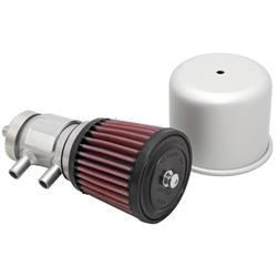 K&N 62-1210 Crankcase Vent Air Filter, 3.5 in. Tall, 3.5 in. OD